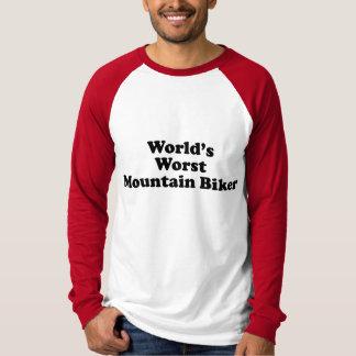 World's worst Mountain biker T-Shirt