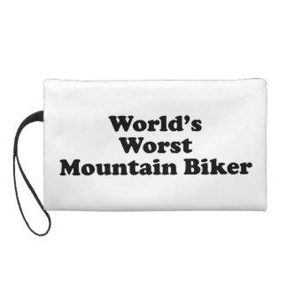 World's worst Mountain biker Wristlet