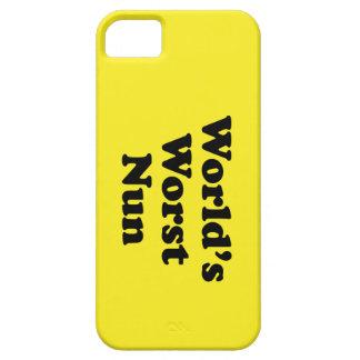 World's Worst Nun iPhone 5 Case