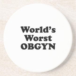 World's Worst OBGYN Beverage Coaster