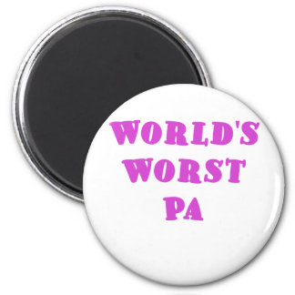 Worlds Worst Pa Magnet