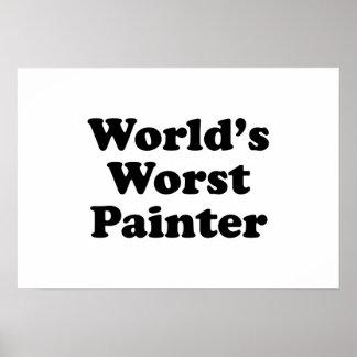 World's Worst Painter Poster