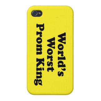 World's Worst Prom King iPhone 4 Cover