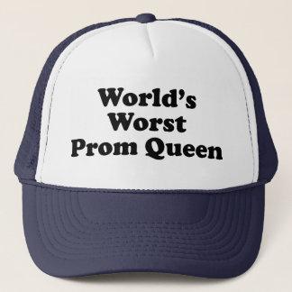 World's Worst Prom Queen Trucker Hat