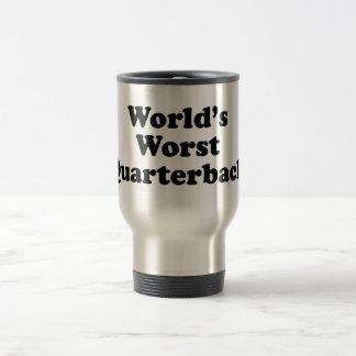 World's Worst Quarterback 15 Oz Stainless Steel Travel Mug