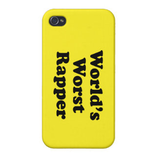 World's Worst Rapper Covers For iPhone 4