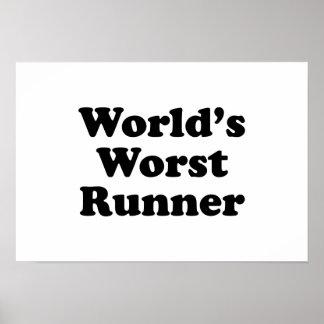 World's Worst Runner Print