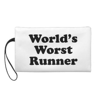 World's Worst Runner Wristlet