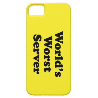 World's Worst Server iPhone SE/5/5s Case
