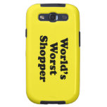 World's Worst Shopper Galaxy S3 Covers