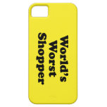 World's Worst Shopper iPhone 5 Cover