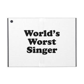 world's worst singer iPad mini cover