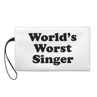 world's worst singer wristlet