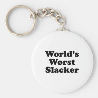 World's Worst Slacker Keychains