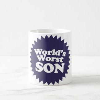 World's Worst Son Classic White Coffee Mug
