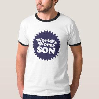 World's Worst Son T-shirts