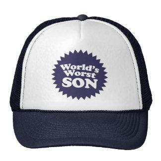 World's Worst Son Trucker Hat