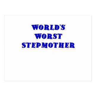 Worlds Worst Stepmother Postcard