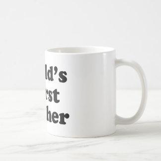world's worst teacher classic white coffee mug