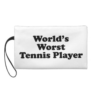 World's Worst Tennis Player Wristlet