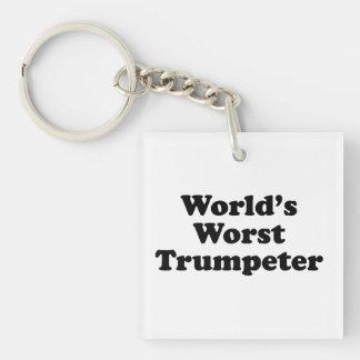 World's Worst Turmpeter Keychain