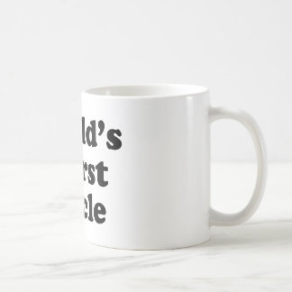 world's worst uncle classic white coffee mug