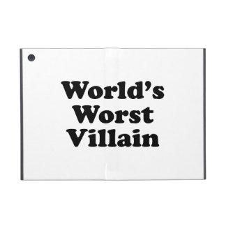 World's Worst Villain iPad Mini Cases