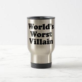 World's Worst Villain Travel Mug