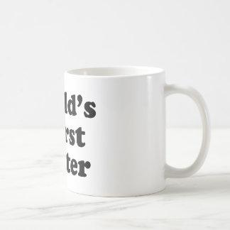 World's Worst Waiter Coffee Mug