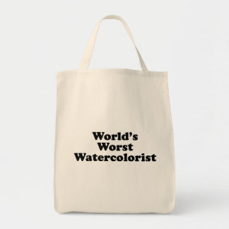 World's Worst Watercolorist Tote Bag