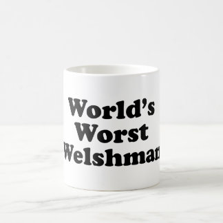 World's Worst Welshman Coffee Mug