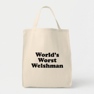 World's Worst Welshman Tote Bag