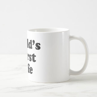 World's Worst Wife Coffee Mug