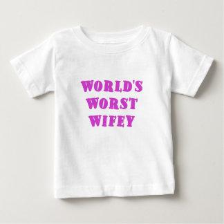 Worlds Worst Wifey Shirt