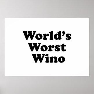 World's Worst Wino Poster