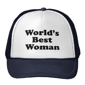 World's Worst Woman Trucker Hat