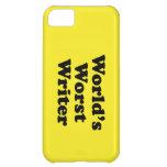 World's worst Writer iPhone 5C Covers