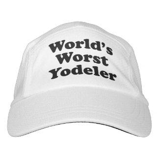 World's Worst Yodeler Hat