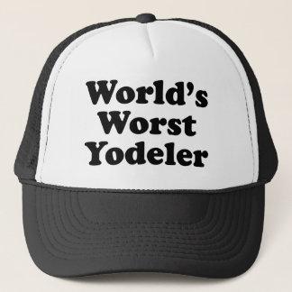 World's Worst Yodeler Trucker Hat