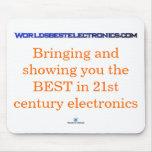 Worldsbestelectroncs.com Mousepad Alfombrilla De Raton