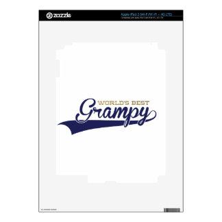 WorldsBestGrampyTee-01 iPad 3 Skins