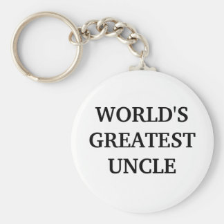 WORLD'SGREATEST UNCLE KEYCHAIN
