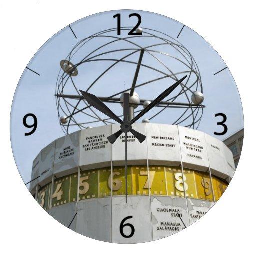 Worldtime Clock in Berlin