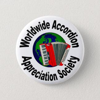 Worldwide Accordion Appreciation Society Button