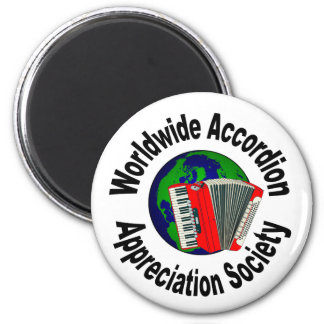Worldwide Accordion Appreciation Society Magnets