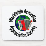 Worldwide Accordion Appreciation Society Mouse Pads