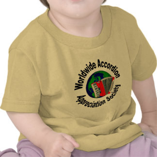 Worldwide Accordion Appreciation Society Shirts