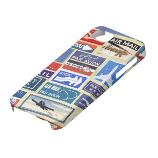 Worldwide Airmail Labels iPhone SE/5/5s Case