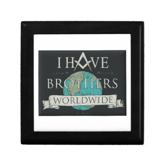 Worldwide Brotherhood Jewelry Box