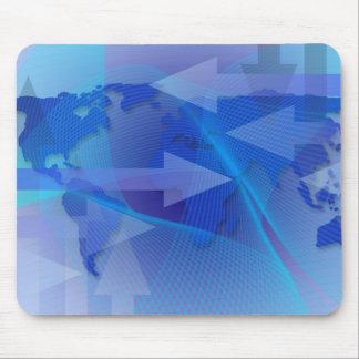 Worldwide Business Map  Mousepad